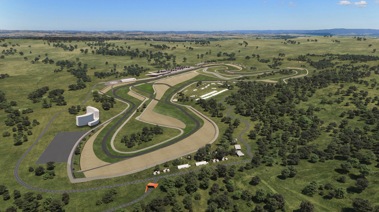 Mount Panorama Second Circuit Concept Illustration