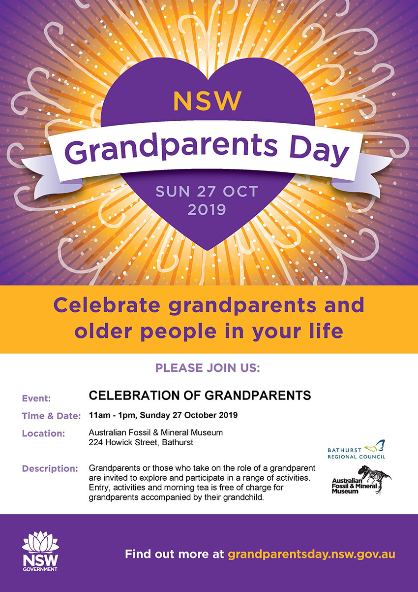 Grandparent's Day Flyer