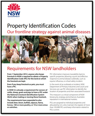 Property Identification Codes