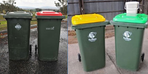 Recycle and Waste Bins