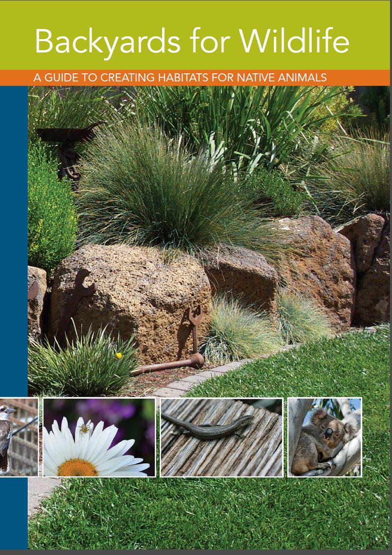 Backyards for Wildlife Booklet