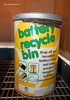 Battery Disposal Bins